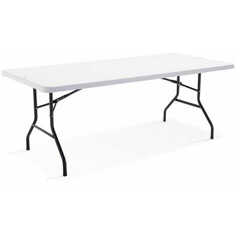 table pliante 200cm 10 places monobloc