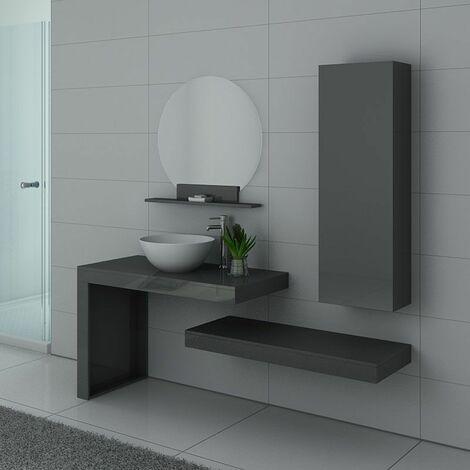 meuble de salle de bain sur le sol 100