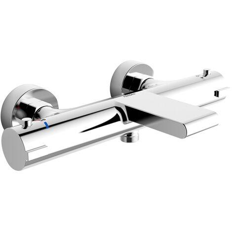 mitigeur thermostatique bain douche robinet de baignoire cascade robinet de douche chrome bec cascade pour baignoire