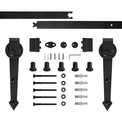 quincailleri kit de rail pour porte coulissante pour portes coulissantes