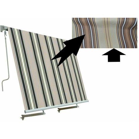 Proponiamo ai nostri clienti tende da sole di ogni genere, tipo e dimensioni. Tenda Da Sole A Caduta Senza Cassonetto Con Bracci Balcone Varie Misure E Colori Colore Beige Misura 1x2 5 Metri