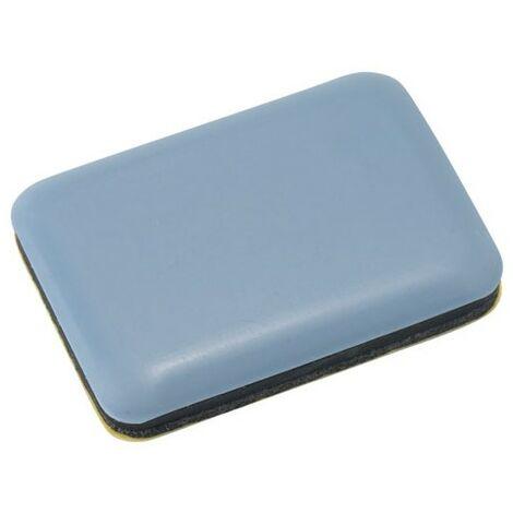 patin glisseur pour meuble 35x25 mm bl