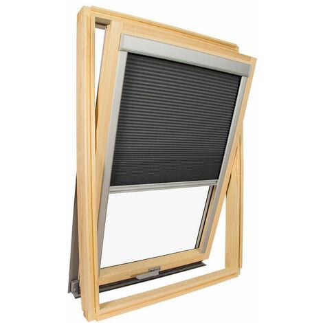 store isolant pour fenetre de toit velux gris anthracite code dimension ck02 gris anthracite