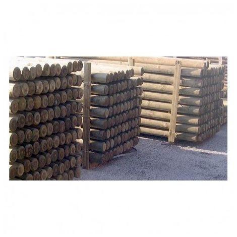 rondin bois fraise pin autoclave classe 4 diametre 100mm 4m