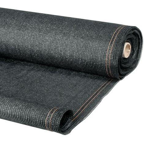 brise vue renforce 1 5 x 10 m gris 220 gr m luxe pro
