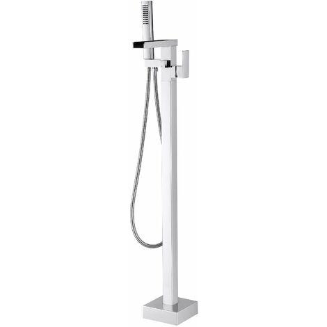 robinet mitigeur de luxe sur pied pour baignoire ilot 1523c