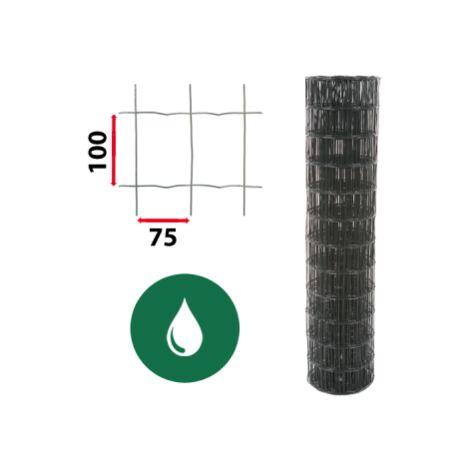 kit grillage soude vert 50m jardimalin maille 100x75mm 1 80 metre