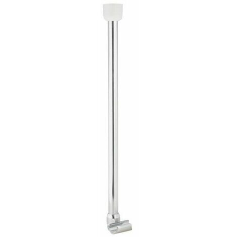 support pour barre d angle o 25 mm chrome