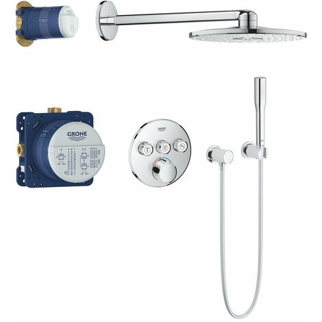 https www manomano fr p grohtherm smartcontrol perfect shower set with rainshower 310 smartactive cube 34706000 4840850