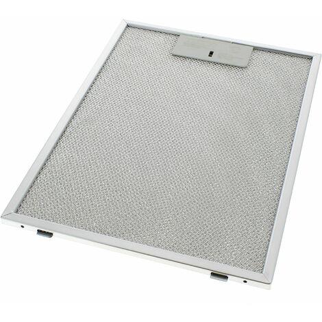 filtre graisse metal 324x235 pour hotte scholtes hotte electrolux