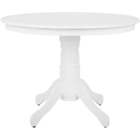 Table De Salle A Manger Blanche 120 X 80 Cm Fly 119532