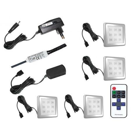 klari ensemble meubles tv led unite murale style moderne largeur 300 cm mur tv a suspendre finition gloss blanc