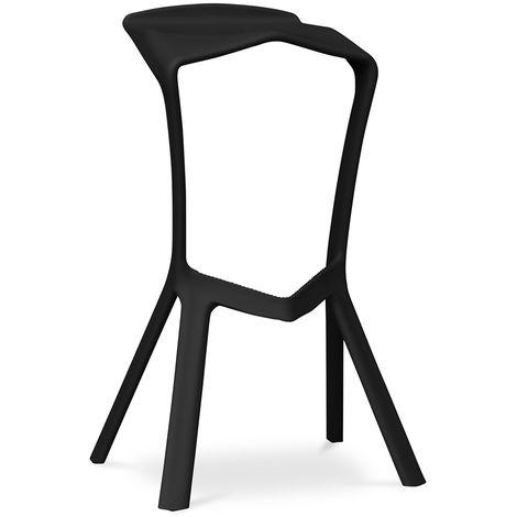 tabouret de bar design marcus noir