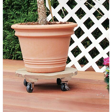 support a roulettes rond flora roll autoclave 35 cm