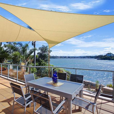Le pergotende o le tende da sole), forniamo arredi da giardino esclusivi. Tende Da Sole Per Esterno Vela Ombreggiante Tenda A Vela Triangolare Protezione Raggi Uv Vela Tenda