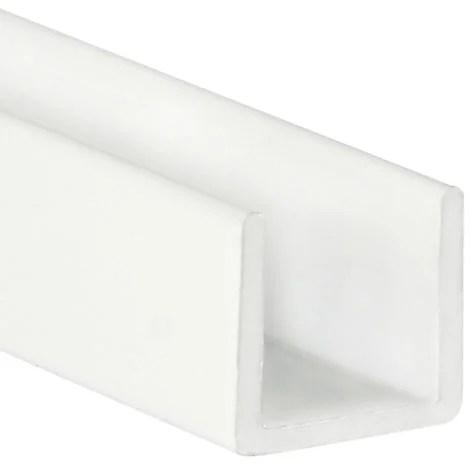 angle plastique 2000 20x20mm blanc
