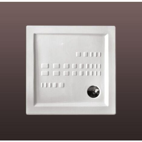 receveur de douche traditionnel 90x90 extra plat en ceramique