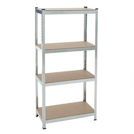 etagere enfichable etagere d atelier etagere de sous sol etagere de rangement verzinkt 160x80x40cm 320kg