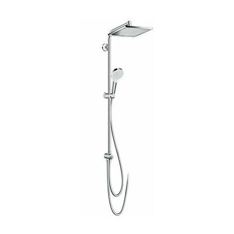 Hansgrohe Crometta E Showerpipe 240 1jet Ecosmart Reno Chrom 27289000