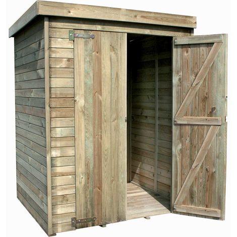 madeira rangement grande armoire de jardin abris de jardin pin sylvestre remise pour tondeuse barbecue chaise de jardin 1 etageres bois traite