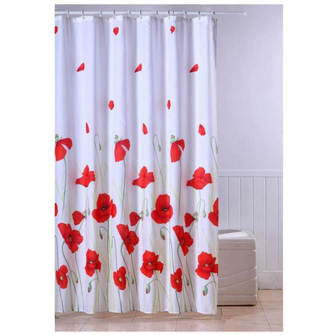 how to install a shower curtain