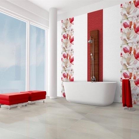 de sol de salle de bains