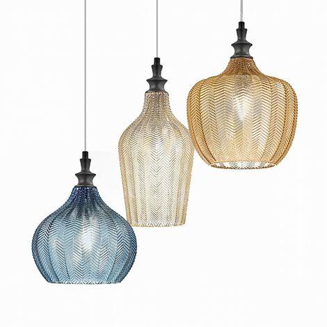 Lampada a sospensione in vetro colorato aurinia lampada a sospensione. Lampadario Vetro Colorato Al Miglior Prezzo