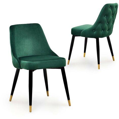 chaise capitonnee a prix mini