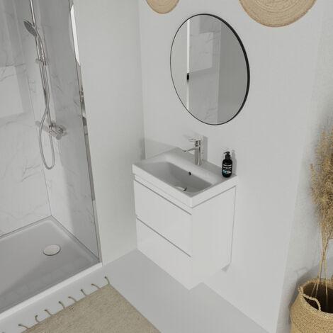 meuble vasque salle de bain profondeur