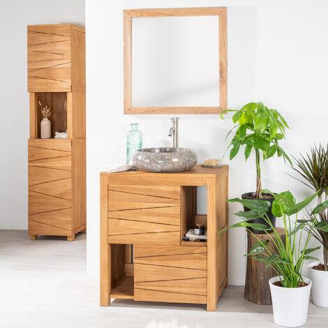 meuble salle bain 70 cm a prix mini