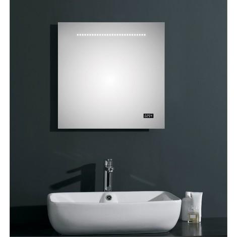 Miroir Salle De Bain Avec Horloge Bright Shadow Online