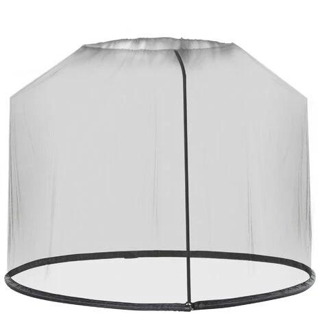 backyard mosquito umbrella screen