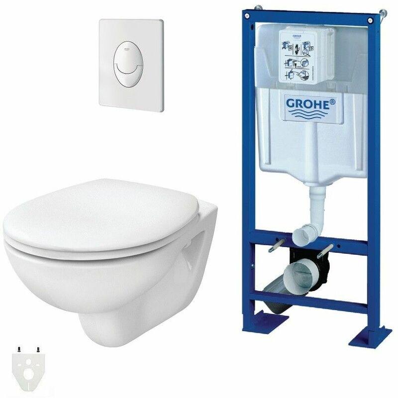pack wc suspendu grohe autoportant