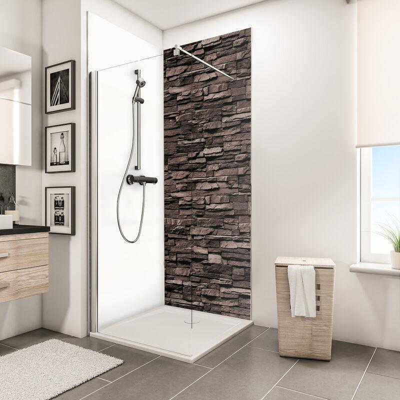 panneau mural 100 x 255 cm revetement pour douche et salle de bains decodesign decor schulte differents decors au choix