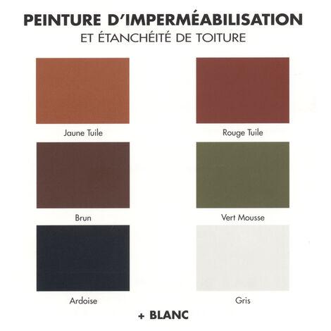 Peinture Toiture Renovation Impermeabilisation Brun Duralex 3 Litres Brun 114100331