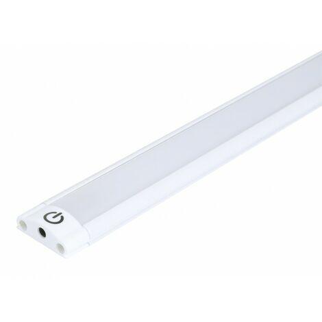 reglette ultra fine aluminium 30cm avec interrupteur touch
