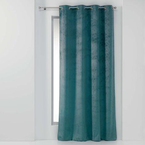 rideau occultant bleu a prix mini