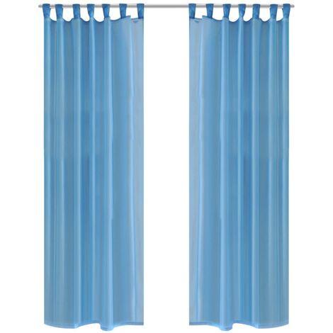rideau turquoise a prix mini