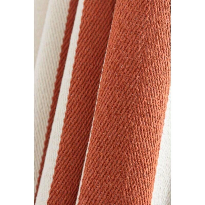 rideau style marin 140 x 240 cm a oeillets tissu lourd a rayures verticales bicolores