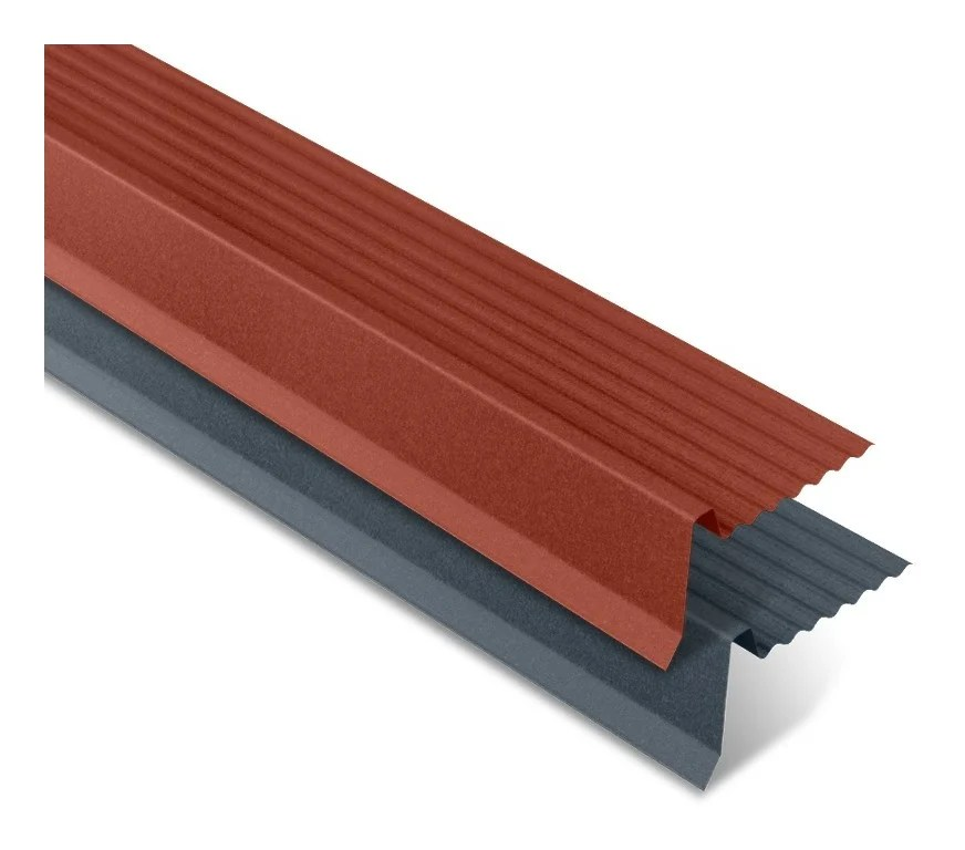 Rive Ajustable Mat Texture Pour Panneau Imitation Tuiles Iris Brun Mat 1200 Mm Longueur Wl12109