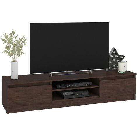selsey hugo meuble tv avec rabat et