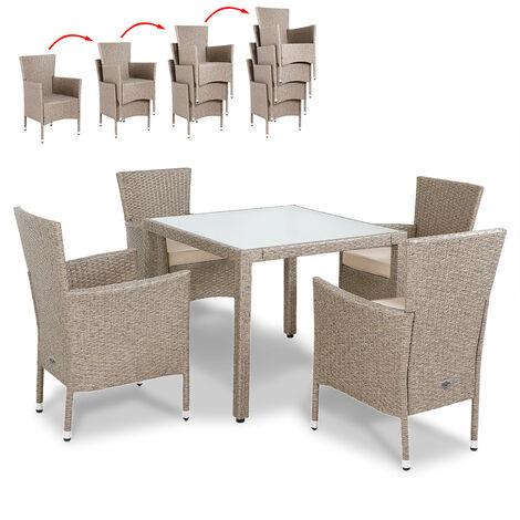 ensemble table et chaise de jardin a