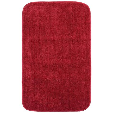 tapis de bain rouge a prix mini