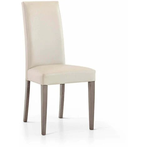 Sfogliate il nostro catalogo e troverete per certo una sedia che si abbini con il vostro tavolo e alla decorazione dei vostri interni. Milani Home S R L S Set Di 6 Sedie Da Cucina Moderna Di Design In Ecopelle Di Design