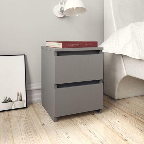table de chevet gris a prix mini