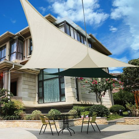 Tenda a wela quadrata 5,4m per feste kookaburra · 3. Tenda A Vela Triangolare Ombreggiante Telo Da Sole Ombra Giardino Parasole Shade Sails Enoxmedia Home Garden