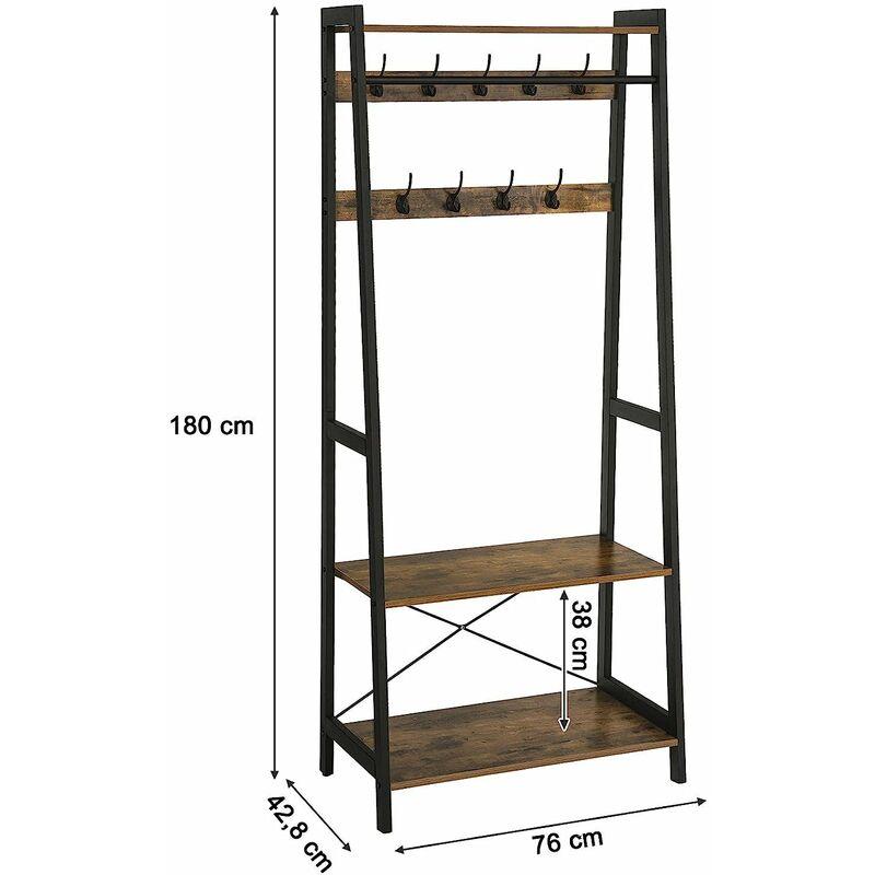 patere de porte extensible 15 a 66 cm