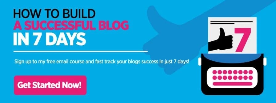 Learn how to start a blog that people notice in 7 days