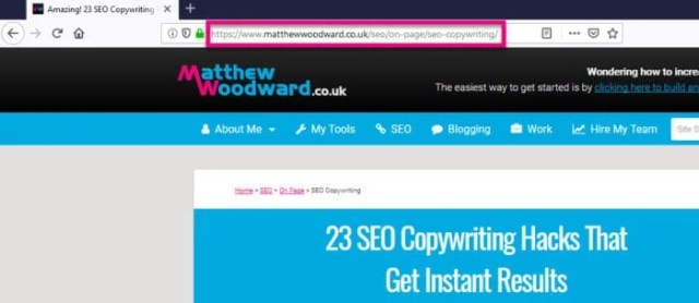On-Page SEO Guide by Matthew Woodward