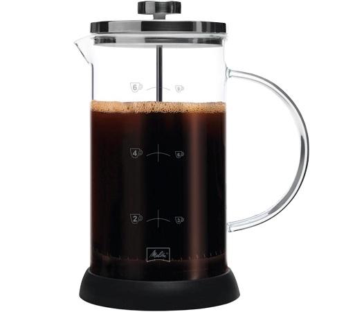 cafetiere a piston 8 tasses 1l melitta